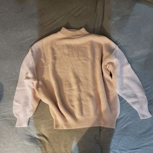Baby Pink Mockneck sweater